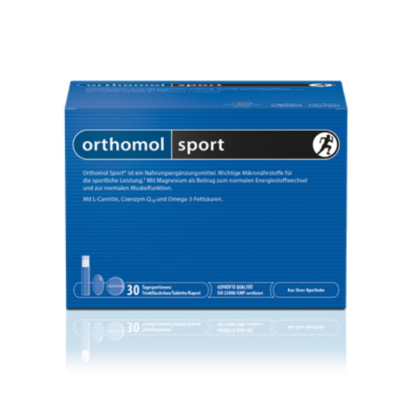 Orthomol Sport 30 Viales