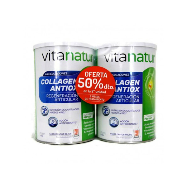 Vitanatur Collagen Antiox Plus 2x360g