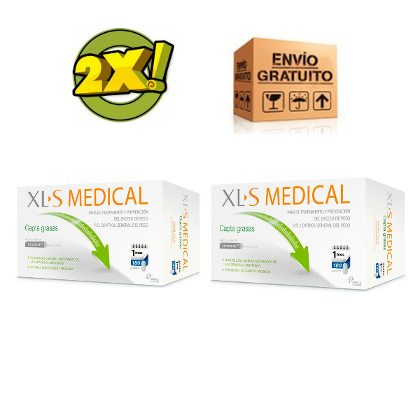 XL-S MEDICAL CAPTAGRASAS 360 COMPRIMIDOS