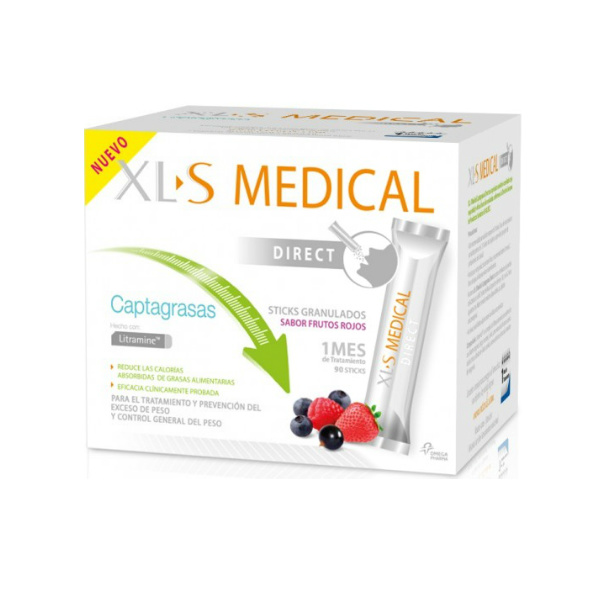 XLS MEDICAL CAPTAGRASAS 90 STICKS